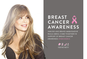 InMode and Paula Abdul Support Breast Cancer Awareness