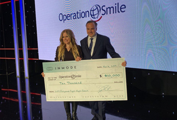InMode Supports Operation Smile with Donation