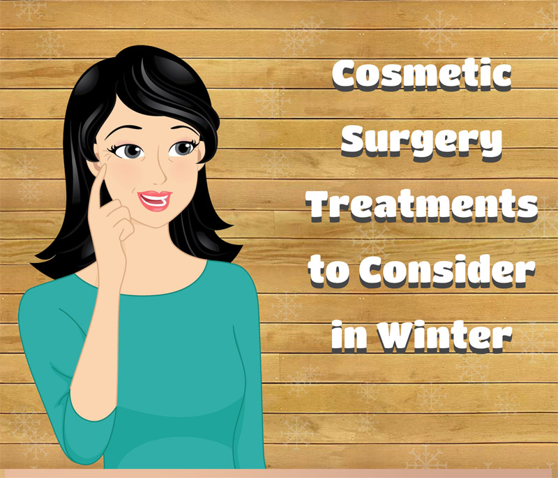 Cosmetic Surgery Treatments to Consider in Winter