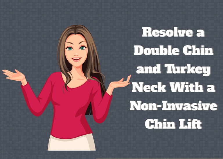 Non-Invasive Chin Lift