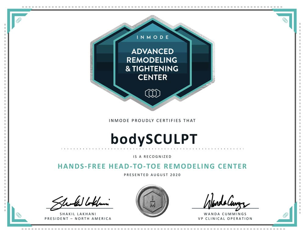 bodySCULPT - Hands-Free Head-To-Toe Remodeling Center